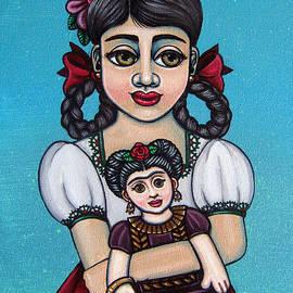 Missy Holding Frida by Victoria De Almeida