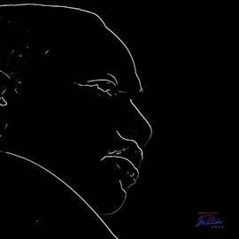 MLK Silhouette by Joe Paradis