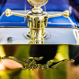 Model T Hood Ornament by Karen Saunders