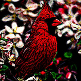 Modernist Cardinal by Bruce Nutting