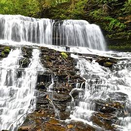 Mohawk Falls by Frozen in Time Fine Art Photography
