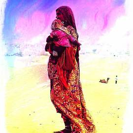 Sue Jacobi - Mom and Child Desert India