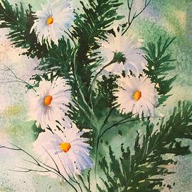 Mom's Daisies by Teresa Ascone