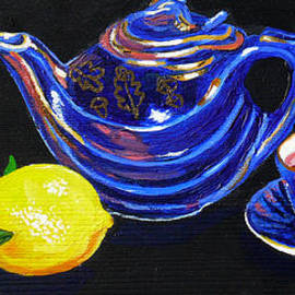Mom's Teapot by Susan Duda
