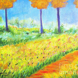 Monet's Garden Path by Jerome Stumphauzer