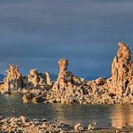 Mono Lake Panoramic Reflections by Adam Jewell