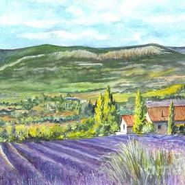 Montagne de Lure in Provence France by Carol Wisniewski