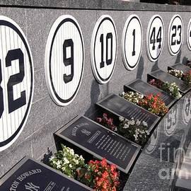 Allen Beatty - Monument Park -  Yankee Stadium