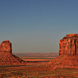 Christine Till - Monument Valley - East Mitten and Merrick Butte
