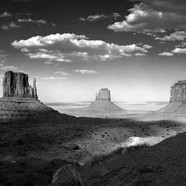 Lucinda Walter - Monument Valley in Black and White