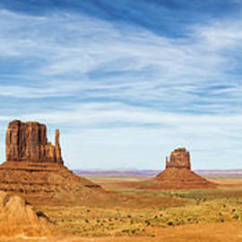 Monument Valley Panorama - Arizona by Brian Harig