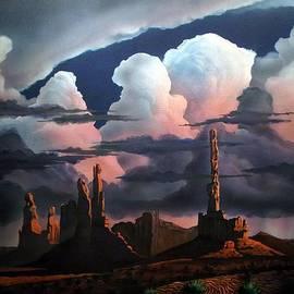 Monumental Monsoon  by Jerry Bokowski
