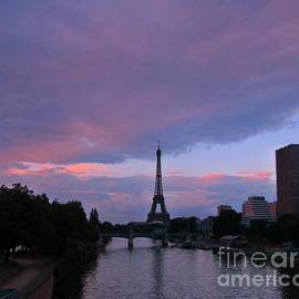 Moody Eiffel Tower by John Malone