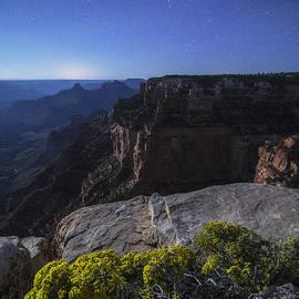 Peter Coskun - Moonlit Canyon