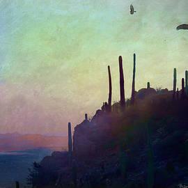 Moonrise Vulture Roost  by R christopher Vest