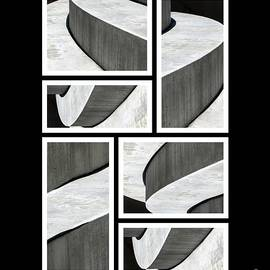 Ausra Huntington nee Paulauskaite - Moonscapes. Abstract Photo Collage 01