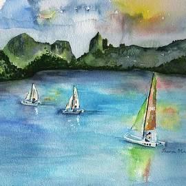 Sharon Mick - Moorea French Polynesia Island