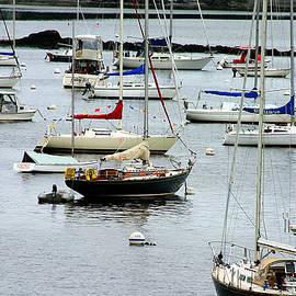 Denyse Duhaime - Moored At Kittery Point Maine