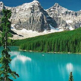 Moraine Lake 1 by Shirley Sirois