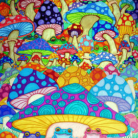 More Frogs Toads and Magic Mushrooms by Nick Gustafson