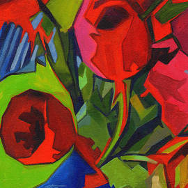 Tanya Filichkin - More Red Tulips