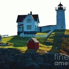 Morning At Nubble Lighthouse by Joy Bradley