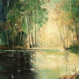 Kathelen Fox Weinberg - Morning at the Pond