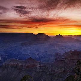 Andrew Soundarajan - Morning Glow at the Canyon