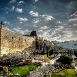 Morning in Jerusalem HDR by David Morefield