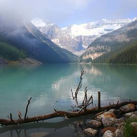 Morning Lake Louise 4 by Mo Barton