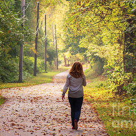 Rima Biswas - morning walk