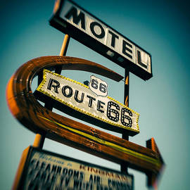 Motel by Dave Bowman