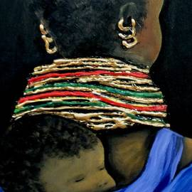 Marietjie Henning - Mother and Child2