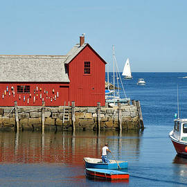 Rockport's Motif #1 by Jean Hall