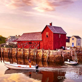 Bob and Nadine Johnston - Motif Number One Rockport Massachusetts