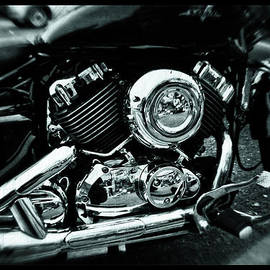 Bikers Engine by Doc Braham