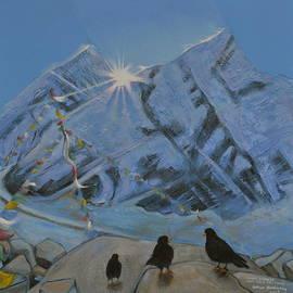 Arthur Glendinning - Mount Everest from Kala Patthar