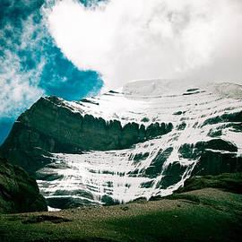 Raimond Klavins - Mount Kailash western slope Home of the Lord Shiva