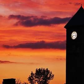 Marcus Dagan - 8.15 On The Mount Royal Clock Tower Baltimore