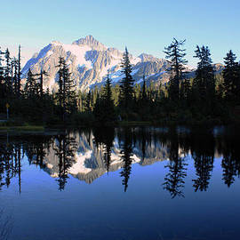 Mount Shuksan by Gerry Bates