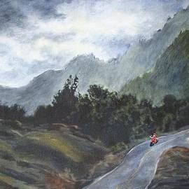 Mountain Ride by Rose Wark