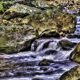 Mountain Stream by Harry B Brown