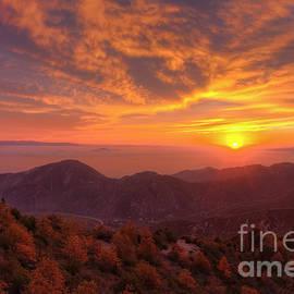 Eddie Yerkish - Mountain Sunset
