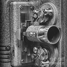 Movie Projector in 8mm Square by Paul Ward