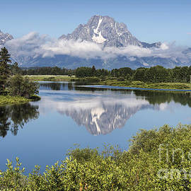 Sandra Bronstein - Mt. Moran Reflection - Grand Teton National Park