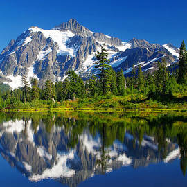 Mt. Shuksan Reflection by Douglas Taylor