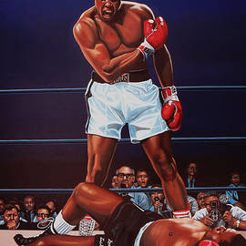 Muhammad Ali versus Sonny Liston by Paul Meijering