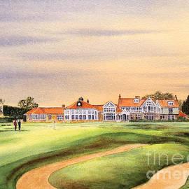 Bill Holkham - Muirfield Golf Course 18th Green