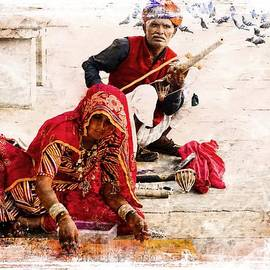 Sue Jacobi - Musician Jewelry Seller Rajasthan India Udaipur
