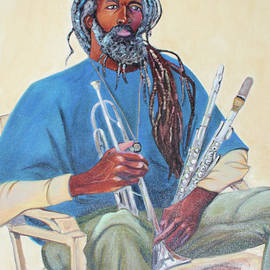 Musician Painter Athlete and Old Soul by Asha Carolyn Young